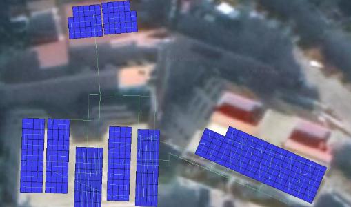 Simulation panneaux